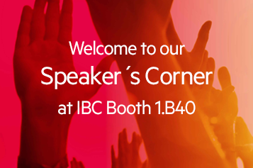 Net Insight speakers corner