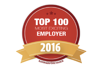 Net Insight top 100 career