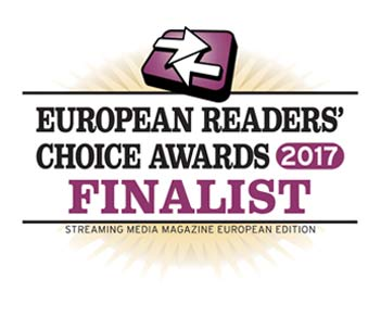 European Readers' Choice Awards 2017 Finalist