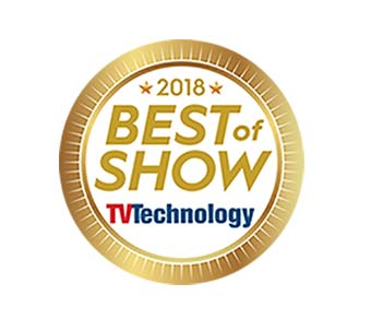 Best of Show NAB TV Technology Net Insight